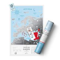 Карта travel map silver europe, 1DEA.me