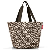 Сумка shopper m diamonds mocha, Reisenthel